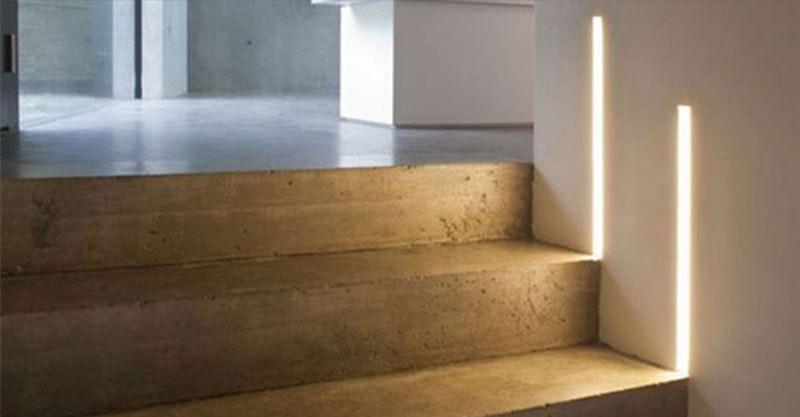 Treppenhaus Leuchten