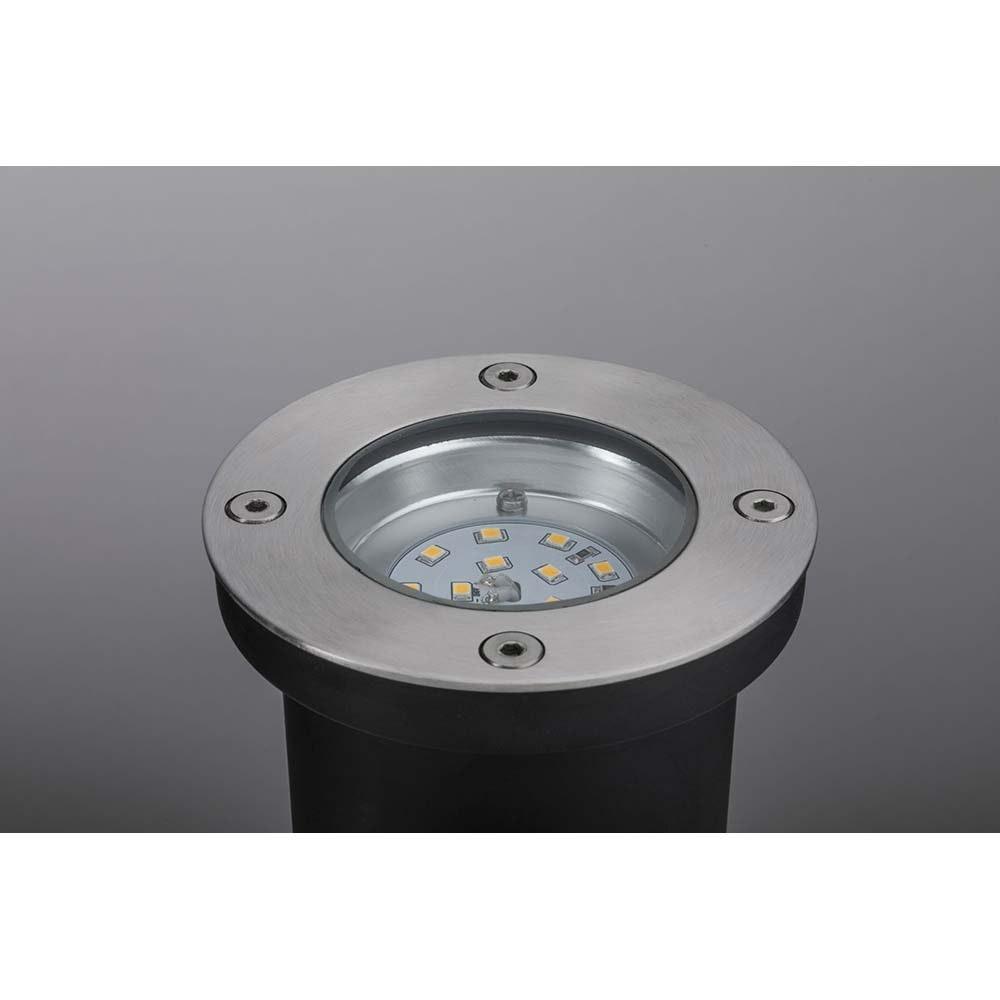 LED Plug & Shine Bodeneinbauleuchte rund IP65 3000K 4