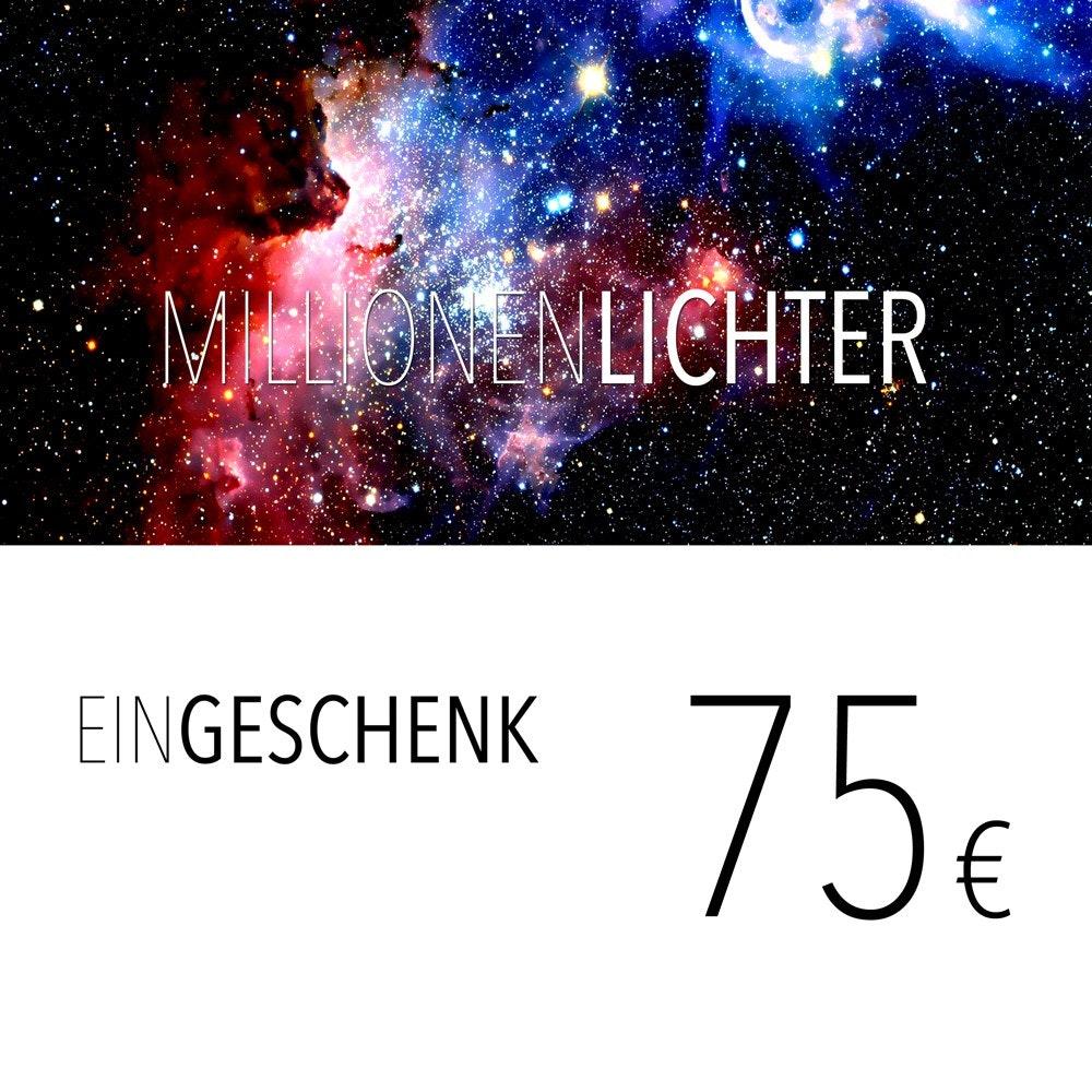 Einkaufsgutschein 75, - Euro