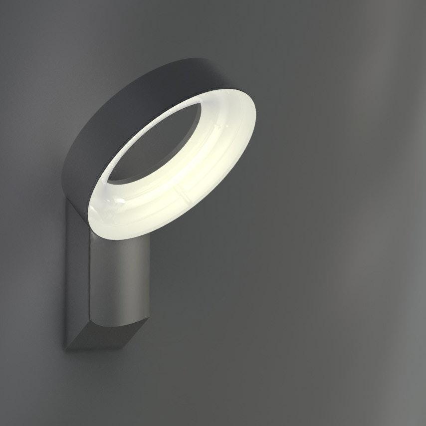Meridian LED-Außenwandleuchte IP44 800lm Anthrazit 1