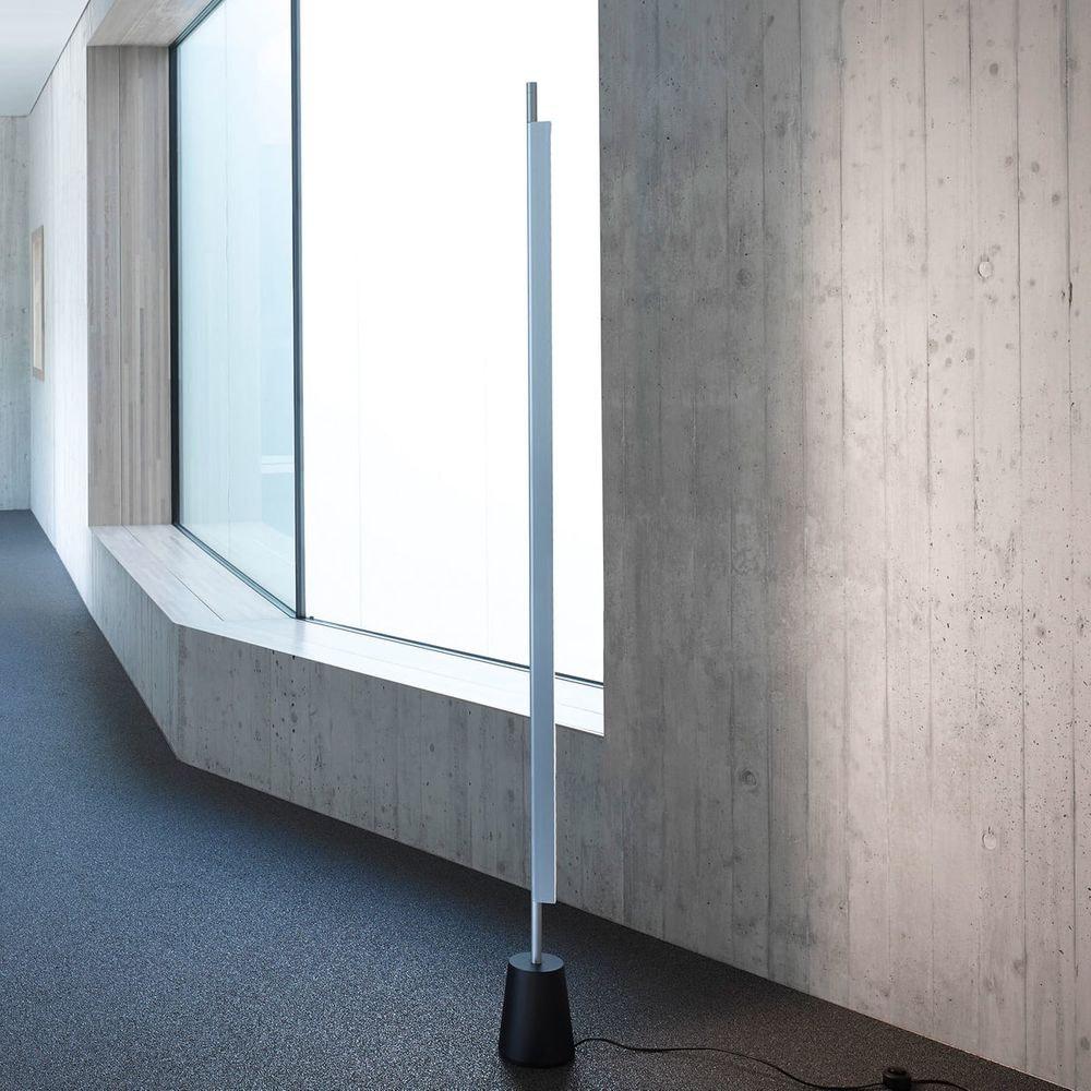 Luceplan Compendium LED Stehlampe (ohne Base) 3000K Schwarz thumbnail 3