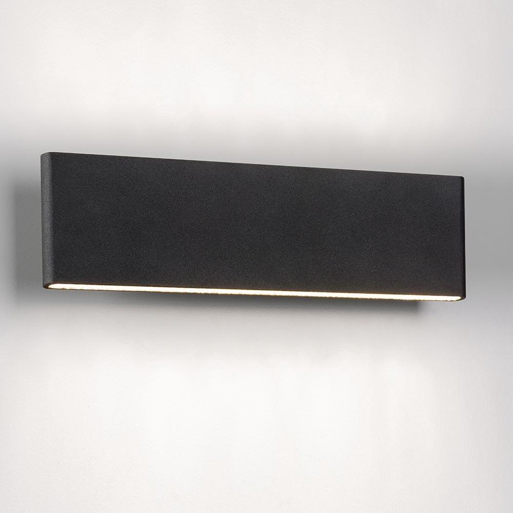 Slim LED-Wandleuchte Up&Down 540lm Schwarz eloxiert 3