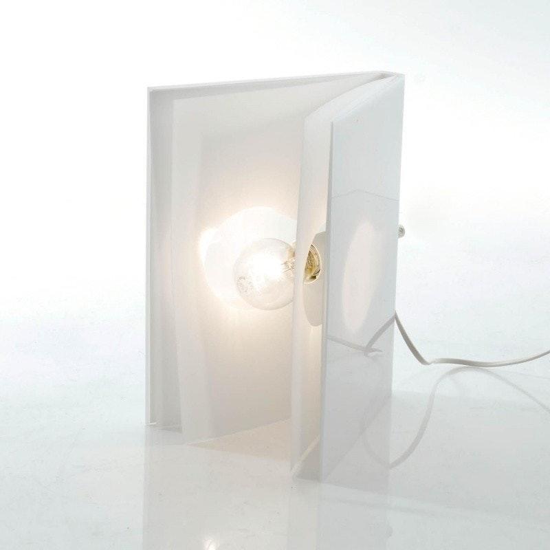 Tecnolumen BookLight Tischleuchte Buchleuchte Weiß 4