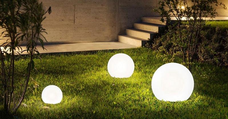 Garten Kugellampen