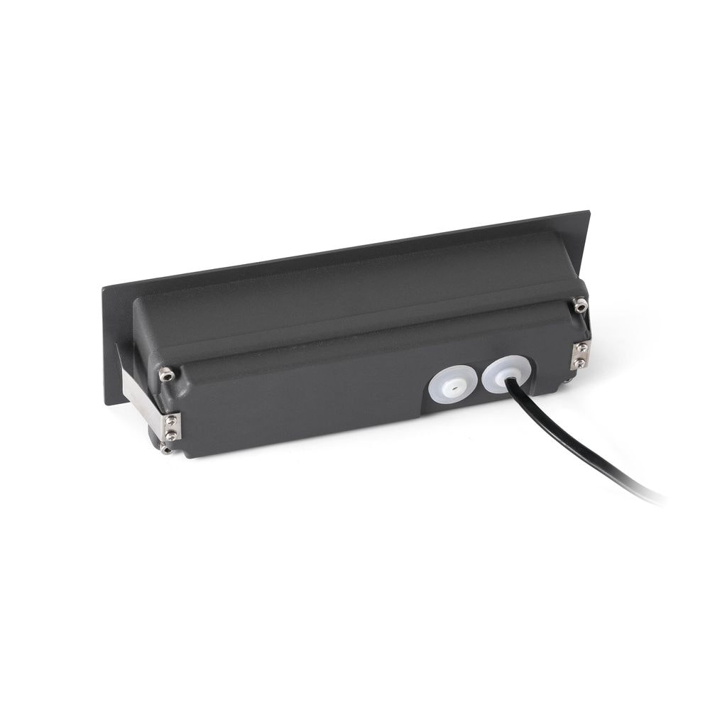 LED Wand-Einbauleuchte NAT IP65 Dunkelgrau 3