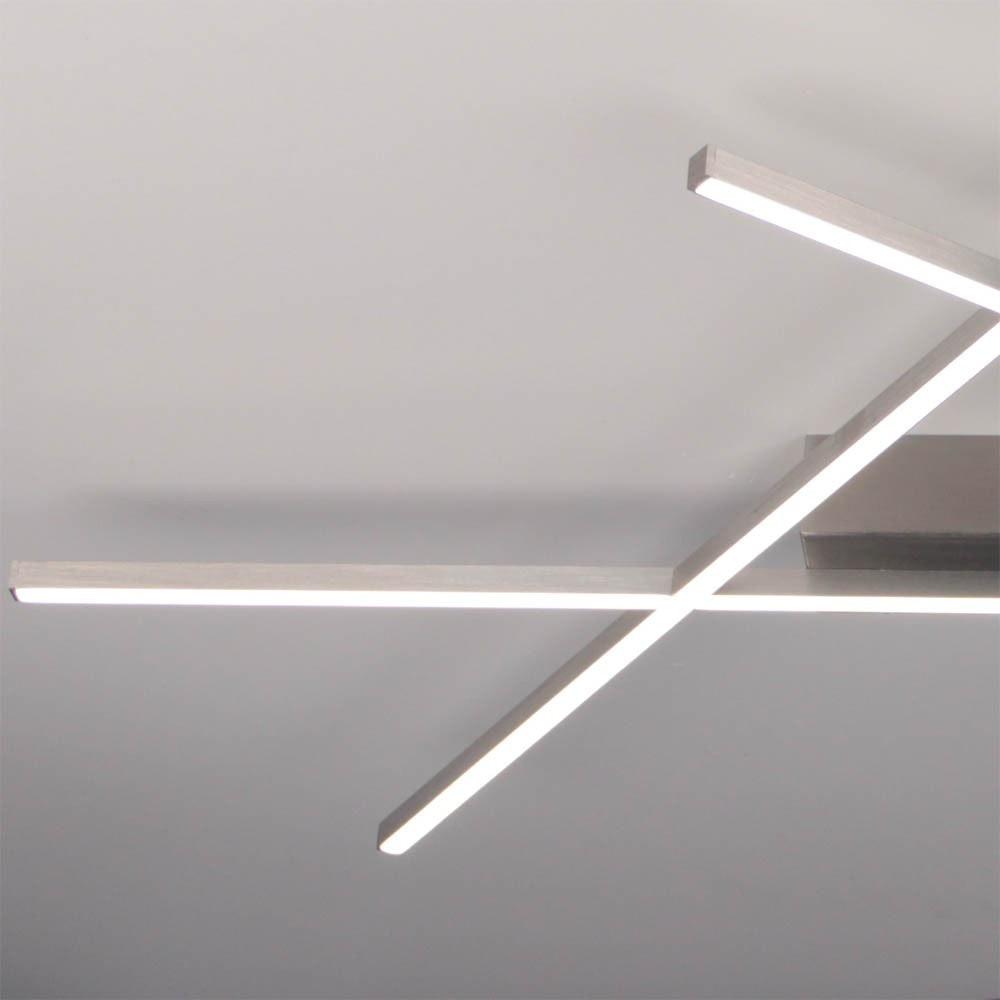 Stick 2 LED Deckenleuchte 57x 33cm Alu-matt 4