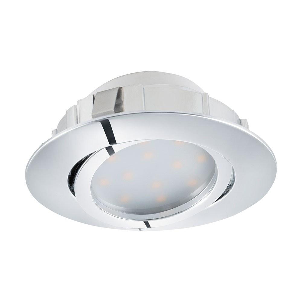 Pineda LED Einbauleuchte 500lm Chrom 2