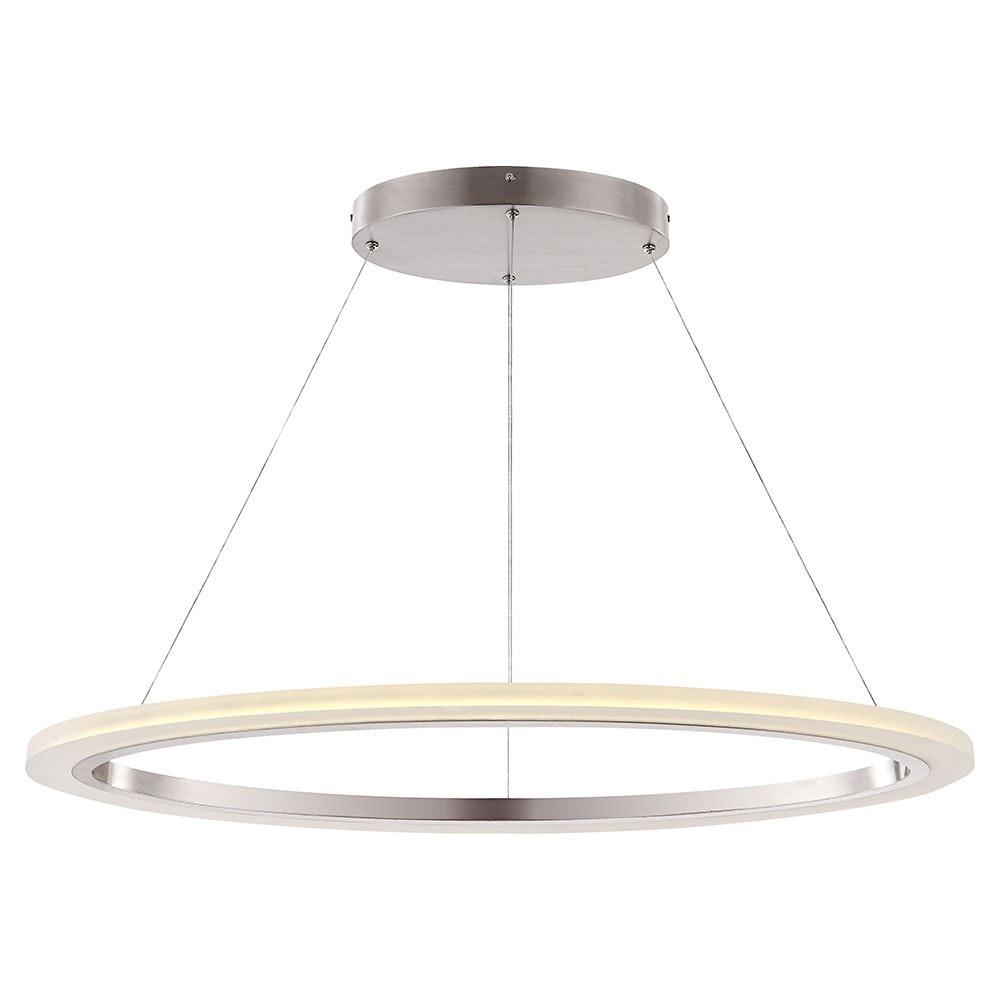 Umbria Hängeleuchte Nickel-Matt LED