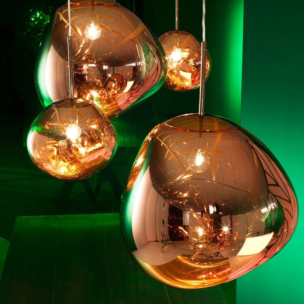 Tom Dixon Melt Large LED Hängelampe 5er Mobile 10