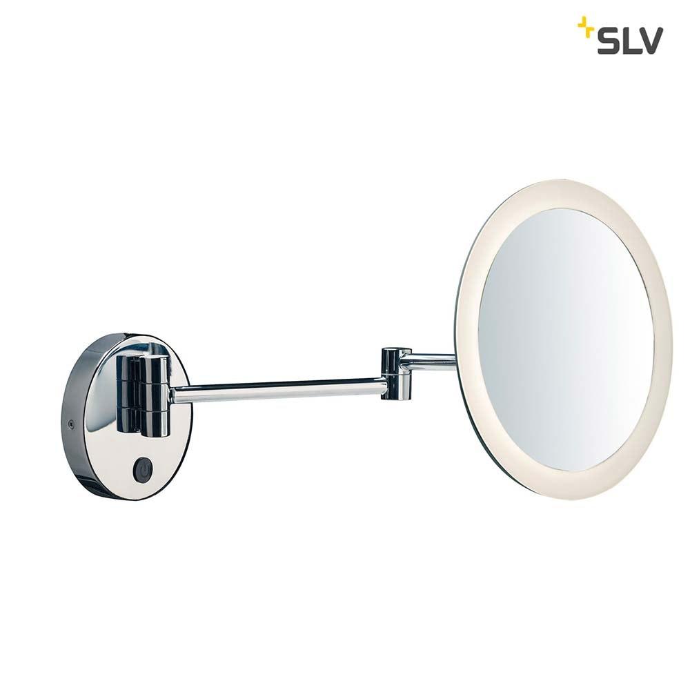 SLV Maganda LED Kosmetikspiegel Chrom IP44 1
