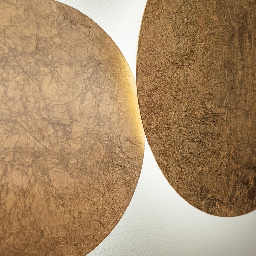 s.LUCE indirekte LED Wandleuchte Plate 8