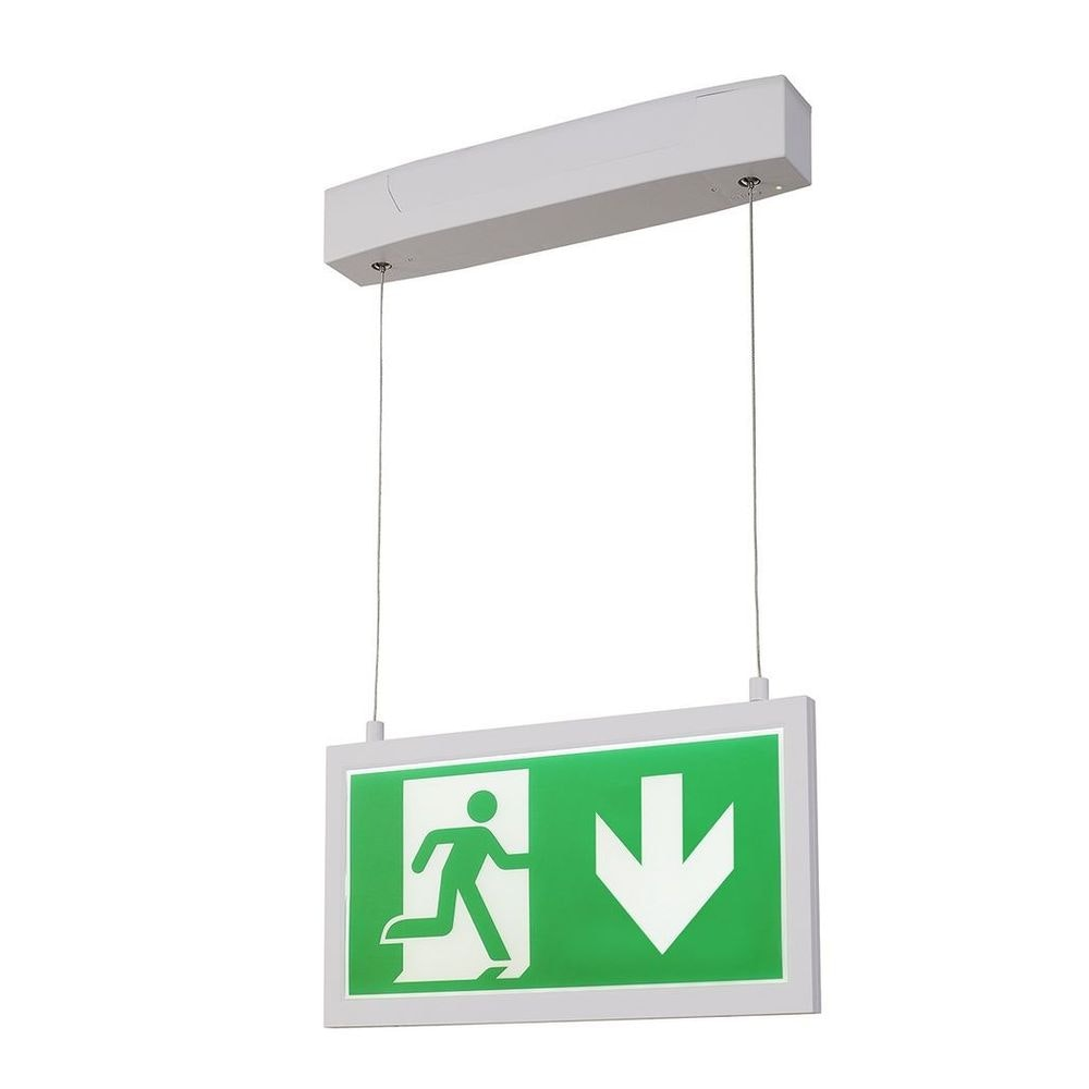 SLV P-Light Emergency Series Exit Sign Big Pendant Weiß 4