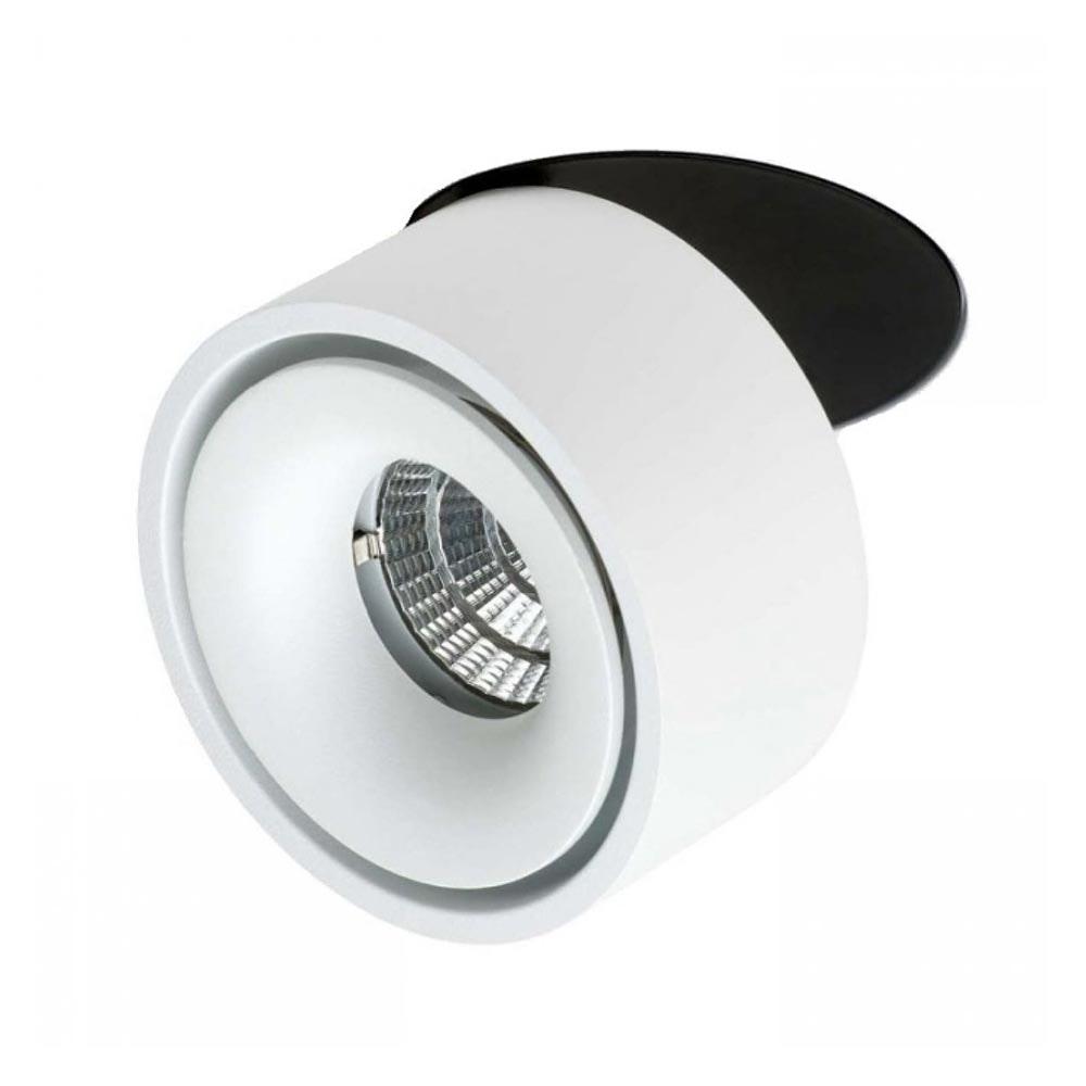 Licht-Trend LED Einbauleuchte 680lm Simple Weiß, Schwarz 1
