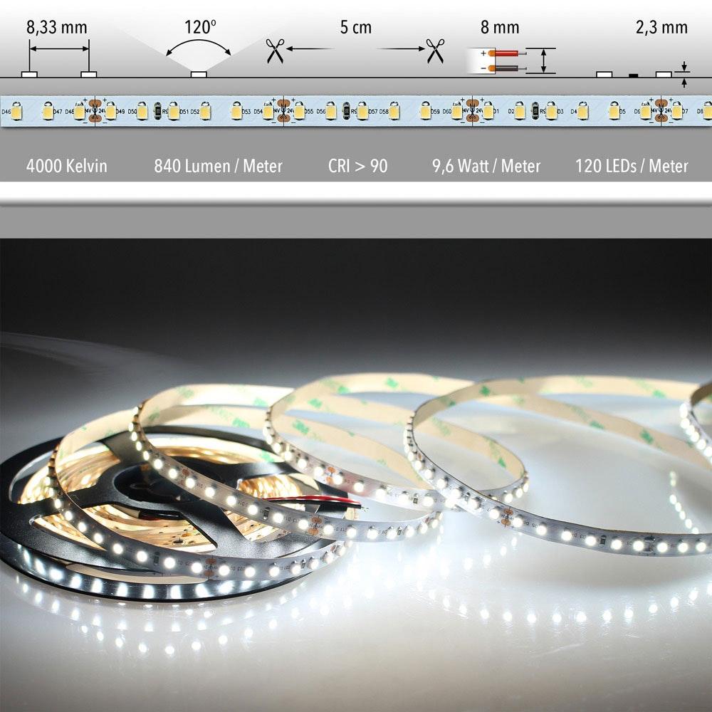 5m LED Lichtband 24V auf Wunsch  21