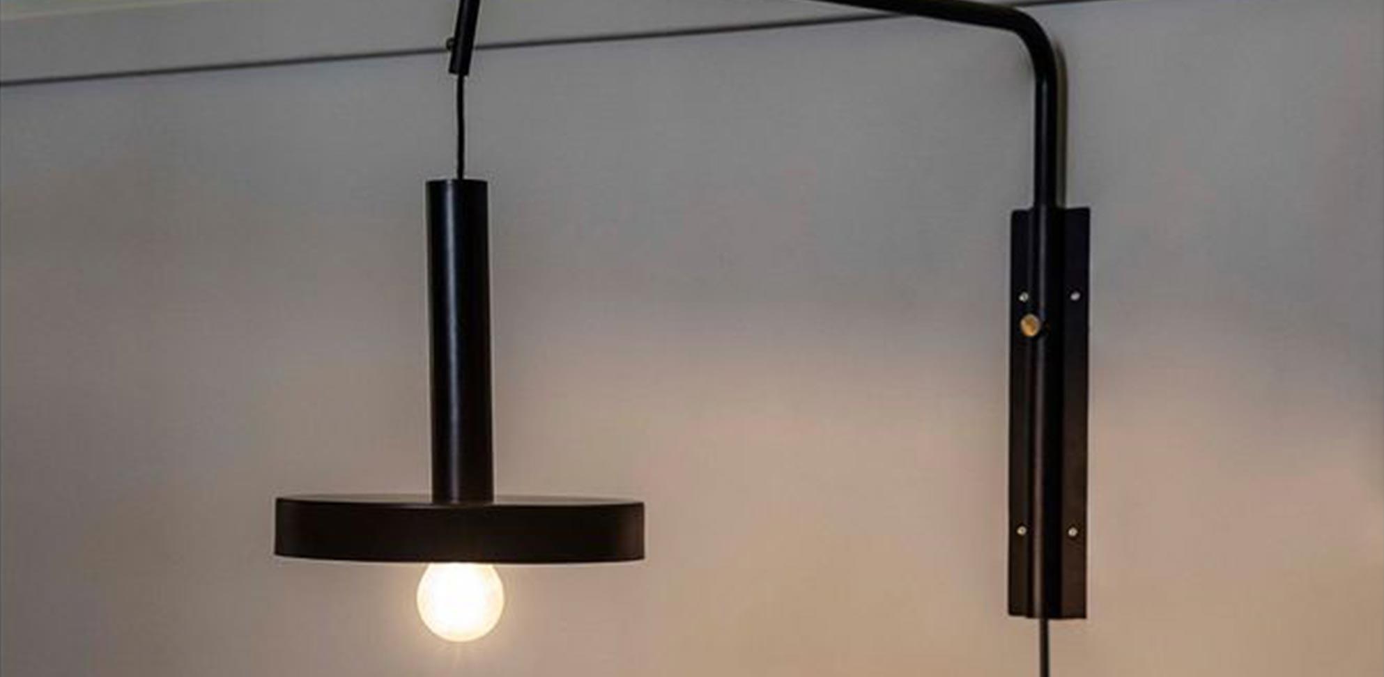 Spanische Lampe schwarz