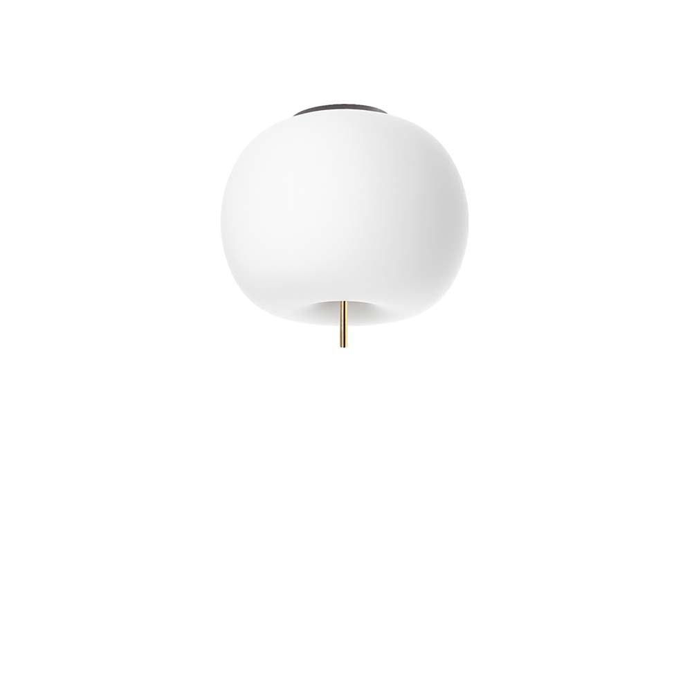 Kundalini Opalglas LED Deckenlampe Kushi Ø 16cm 1