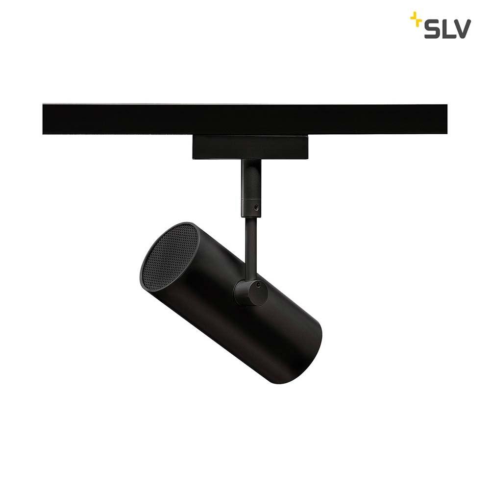 SLV Revilo LED Strahler für 2Phasen-Stromschiene 2700K Schwarz 36° 4