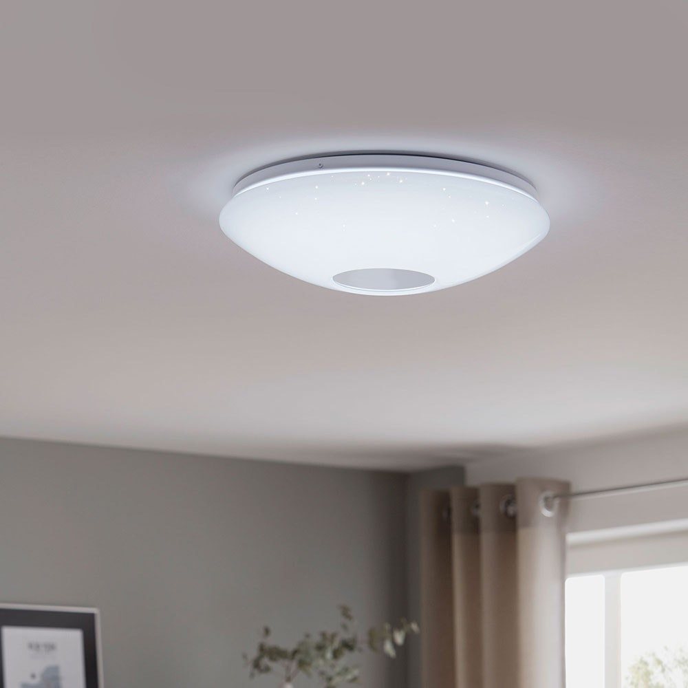 Voltago 2 LED Deckenleuchte Ø 60cm 2600lm Weiß 1
