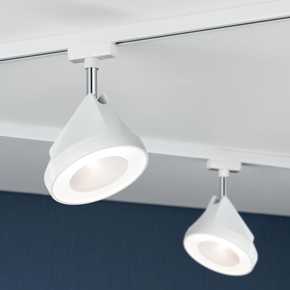 URail LED Spot Arena Weiß Dimmbar