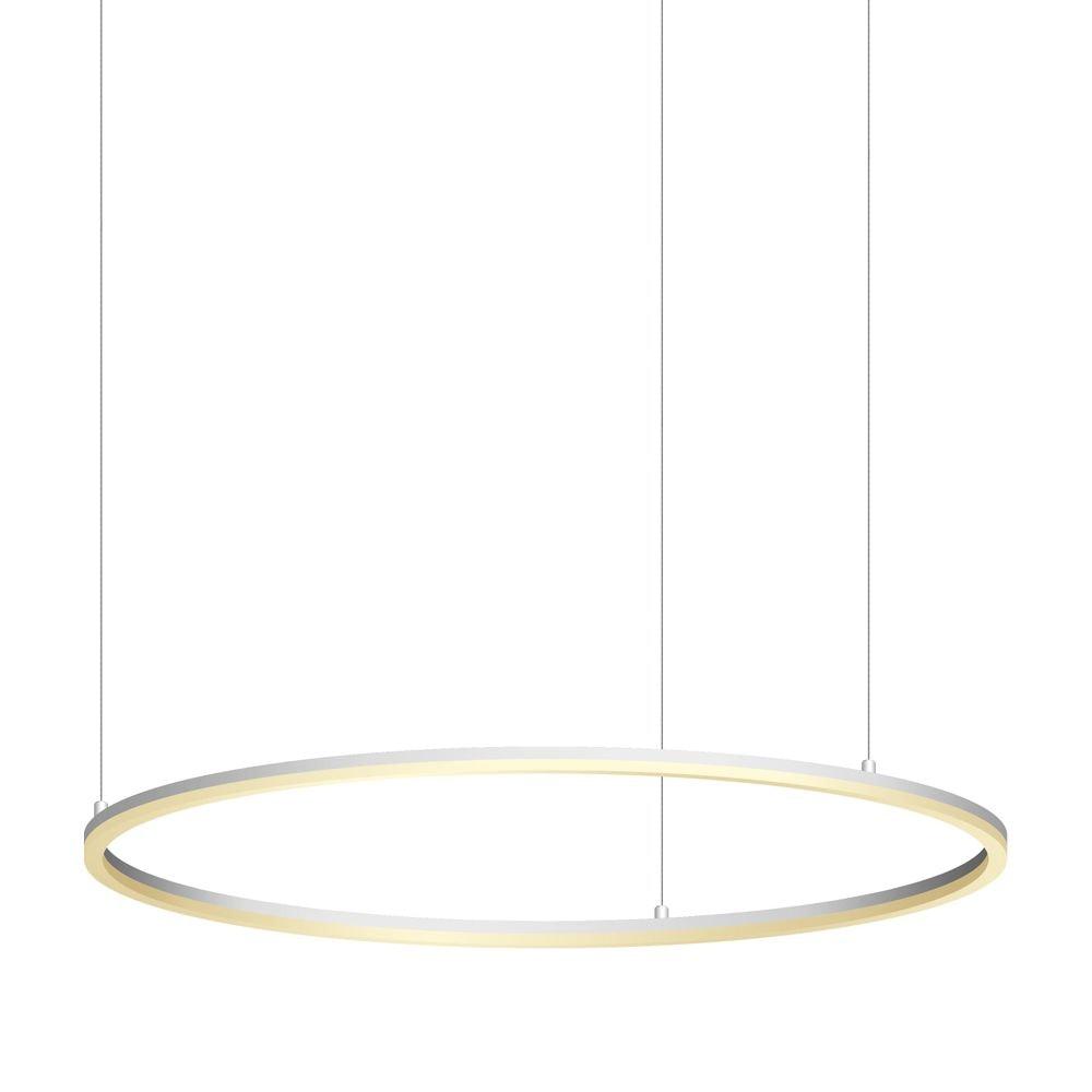 s.LUCE Ring 100 LED Hängelampe Dimmbar 15