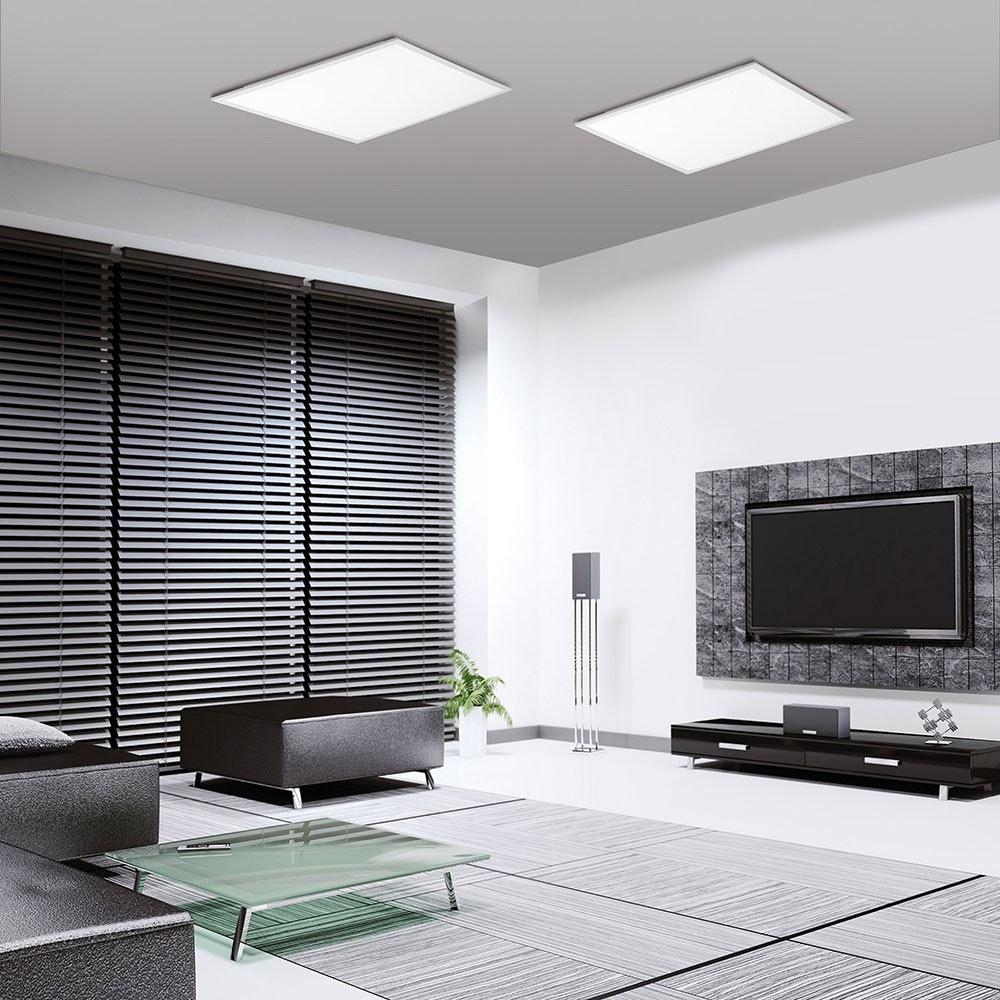 LED Deckenleuchte Q-Flag 46W CCT Weiß 2