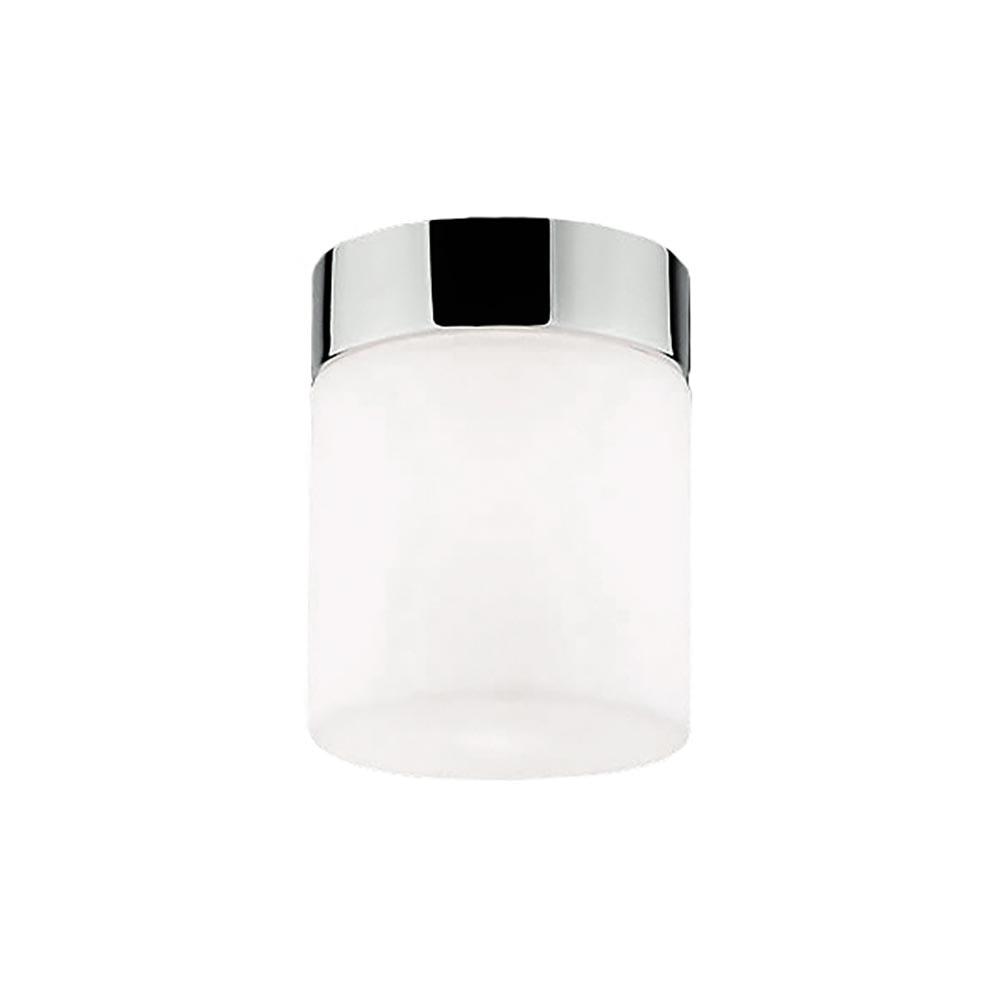 Licht-Trend Glas Deckenlampe Cayo Weiß, Chrom