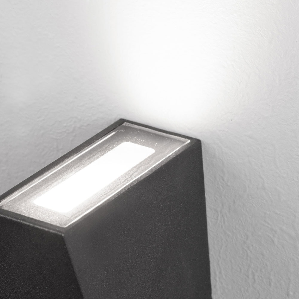 Nova Luce Miley Mini LED-Wandleuchte up&down IP54 2