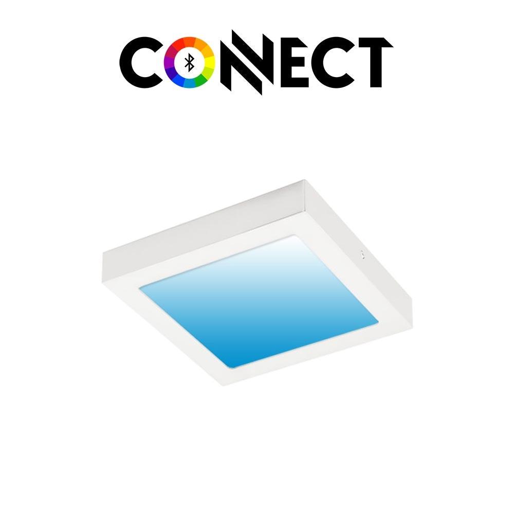 Connect LED Aufbaulampe 30x30cm 2700lm RGB+CCT 1