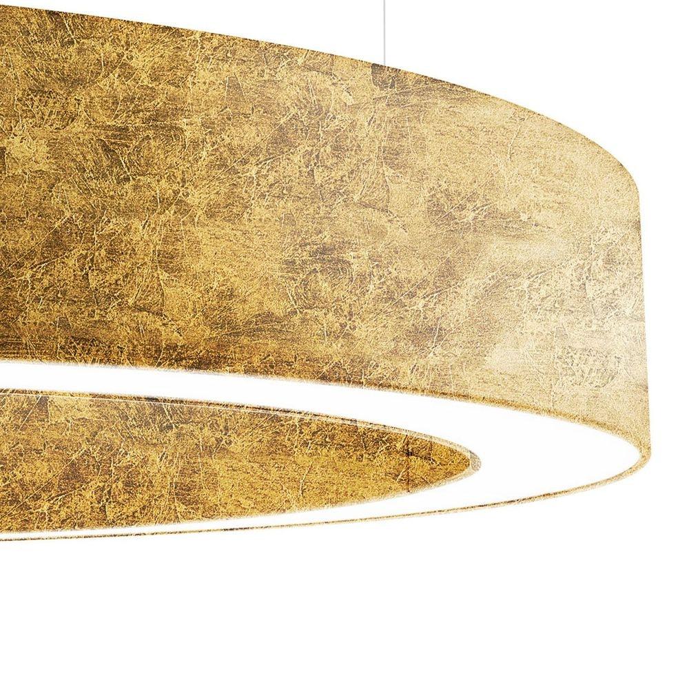 Panzeri Golden Ring LED-Pendelleuchte dimmbar 10