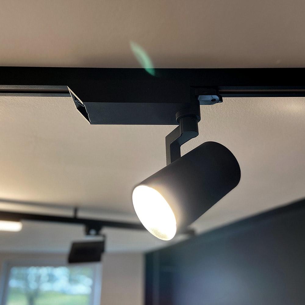 Golo 3-Phasen Power-LED Schienenstrahler 2500lm CRI>90 36°  1