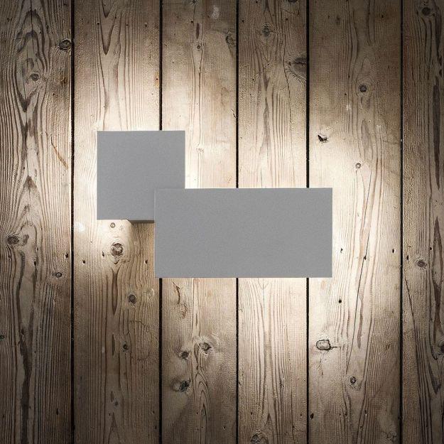 Studio Italia Design Puzzle Outdoor Square & Rectangle LED Wandlampe thumbnail 5