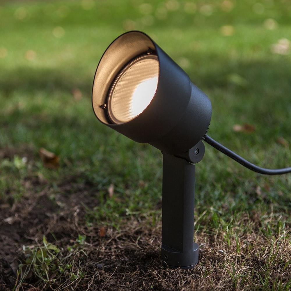 LED-Erdspieß Explorer schwenkbar 1