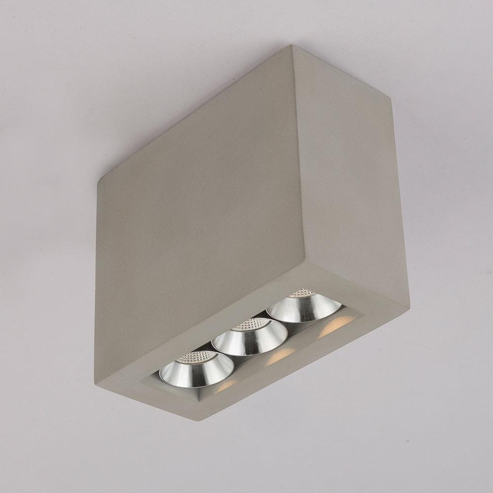 LED Deckenleuchte Timo Grau 7
