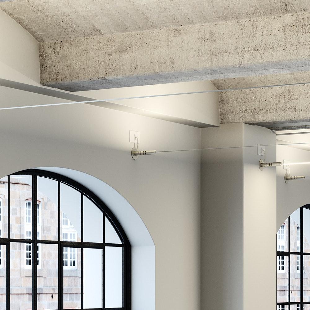 Fabbian Metro LED-Strip-Leuchte 12m 2