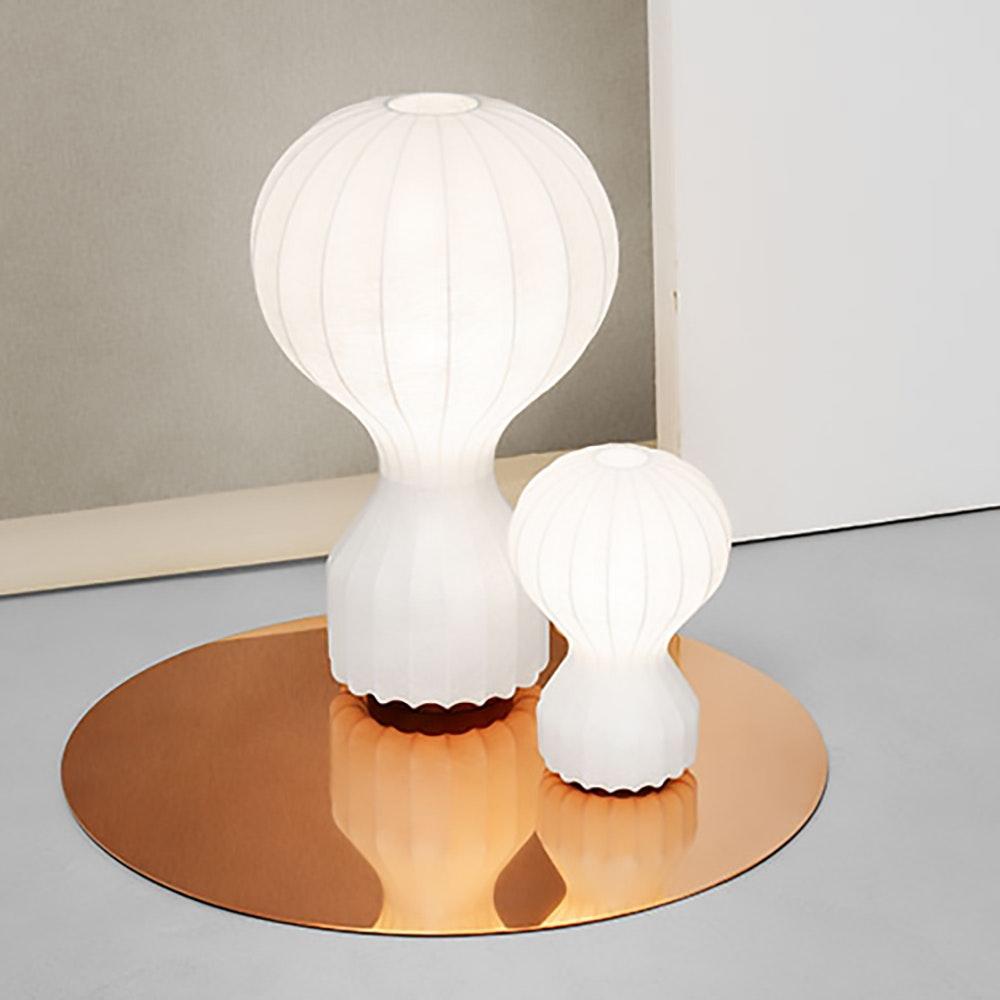 FLOS Gatto Cocoon Tischleuchte Weiß 3