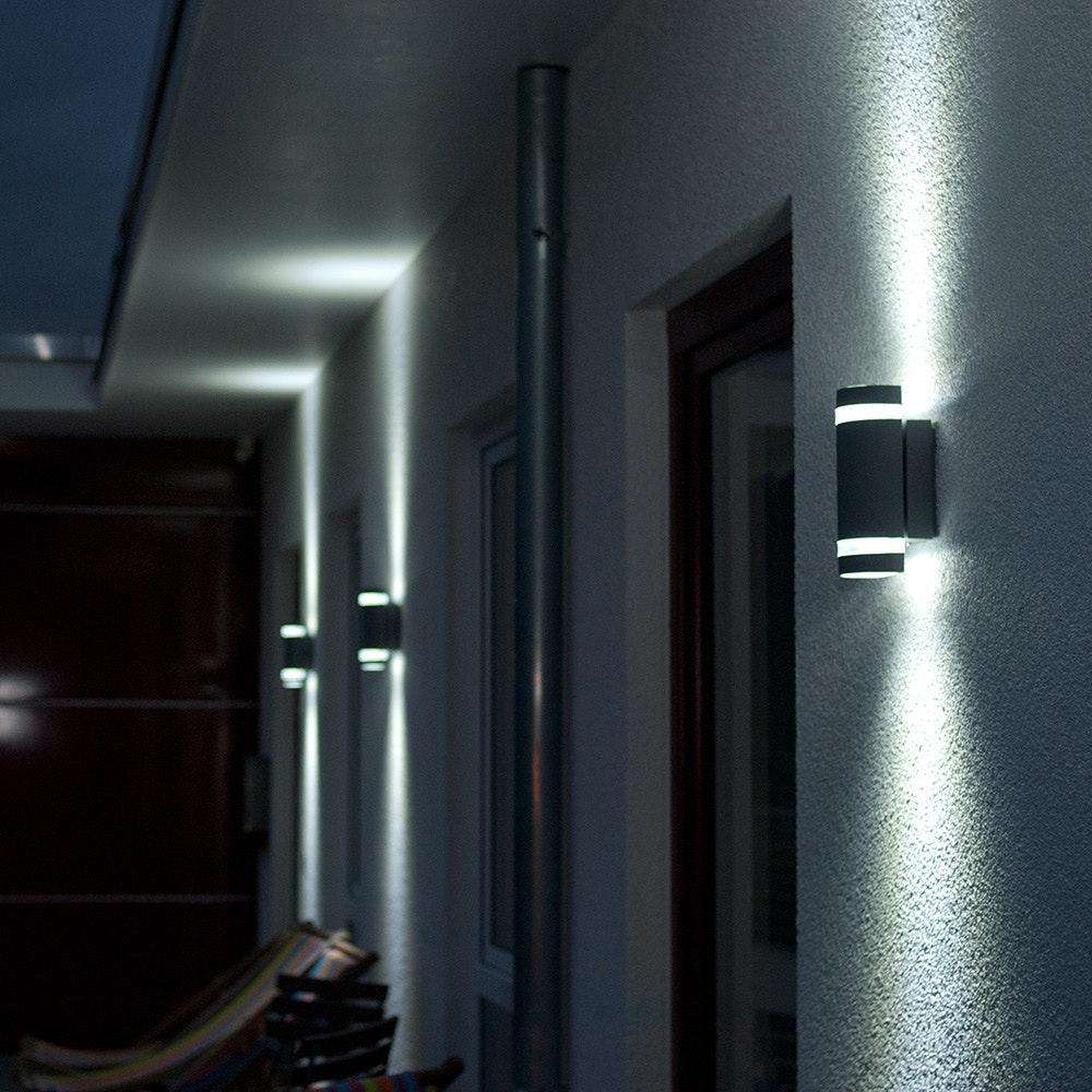 Außenwandlampe Focus IP44 Anthrazit 3