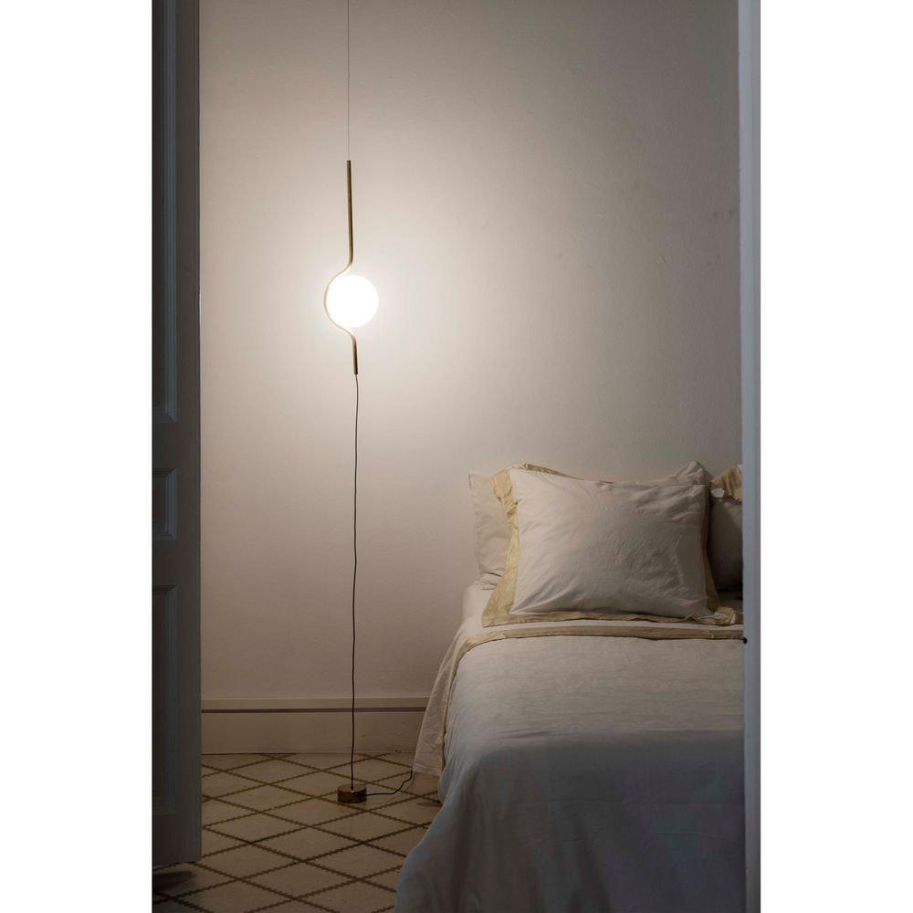 LED Pendel-Stehlampe LE VITA 6W 2700K Goldfarben 1