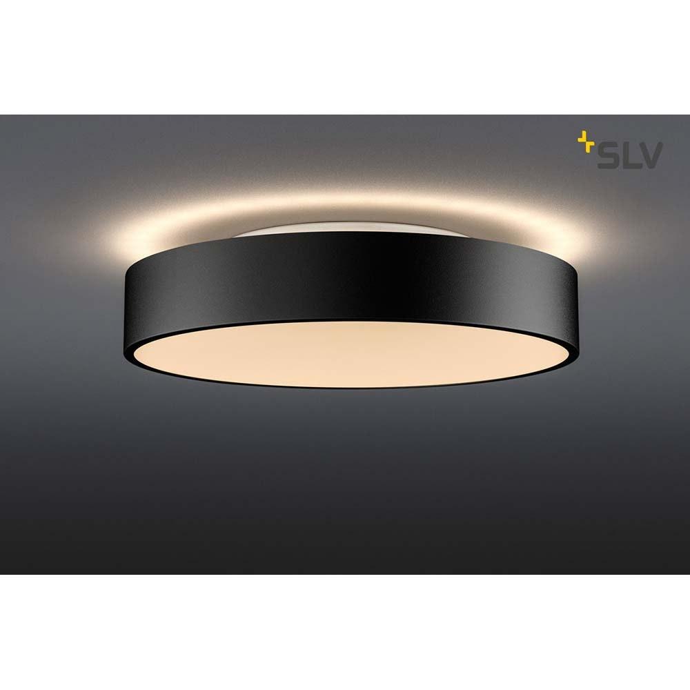SLV Medo 40 Corona LED Aufbauleuchte Triac Schwarz 2