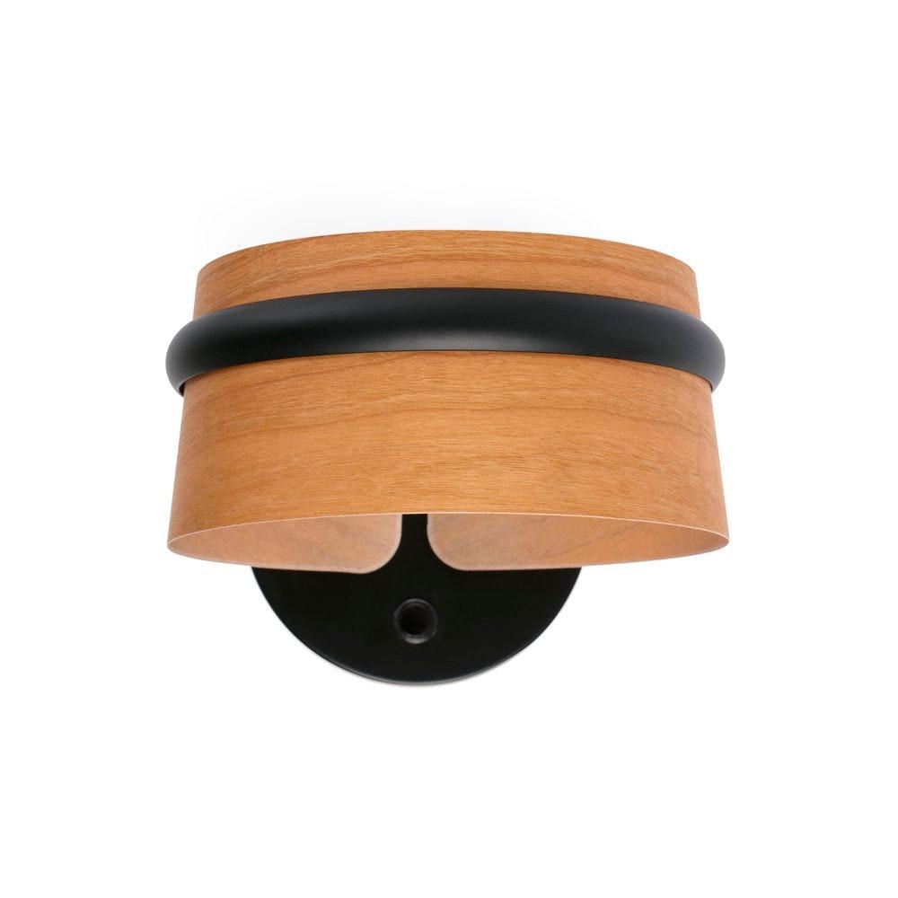 LED Wandleuchte LOOP Dimmbar Schwarz, Braun 1