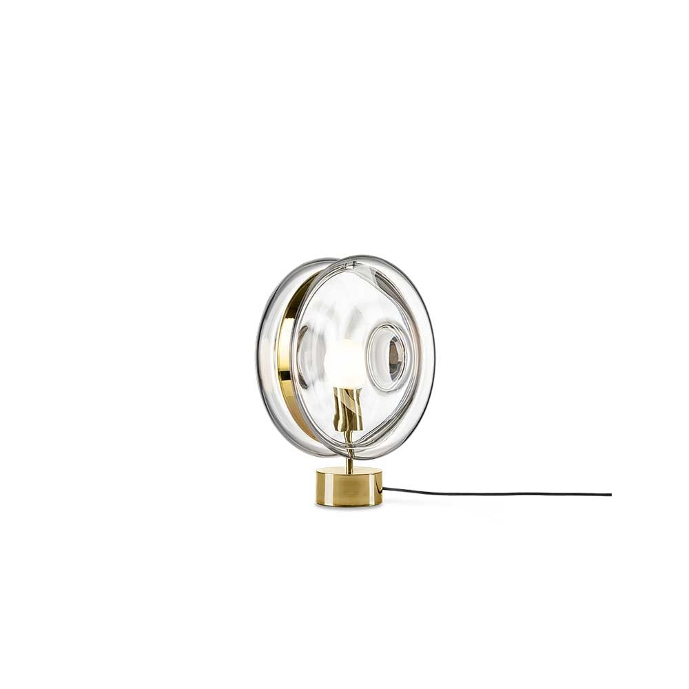 Bomma Glas-Tischlampe Orbital Ø 36cm 1