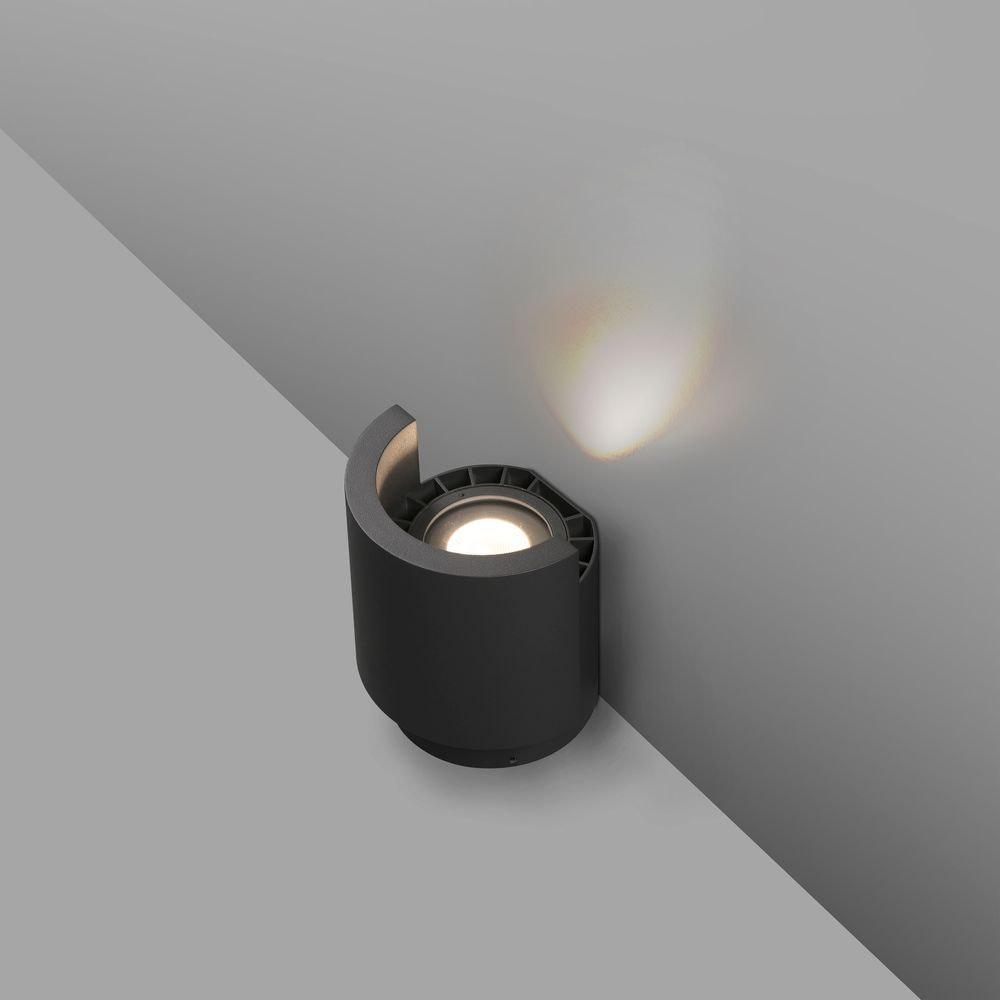 LED Boden-Aufbaustrahler NOBORU 3000K IP65 Dunkelgrau 2