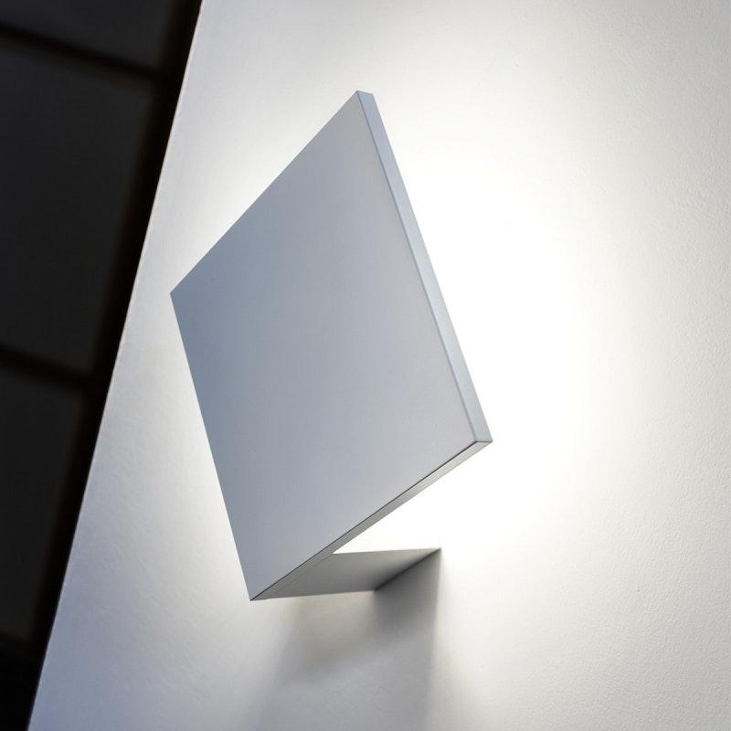 Lodes Puzzle Outdoor Single Square LED Wandlampe thumbnail 4