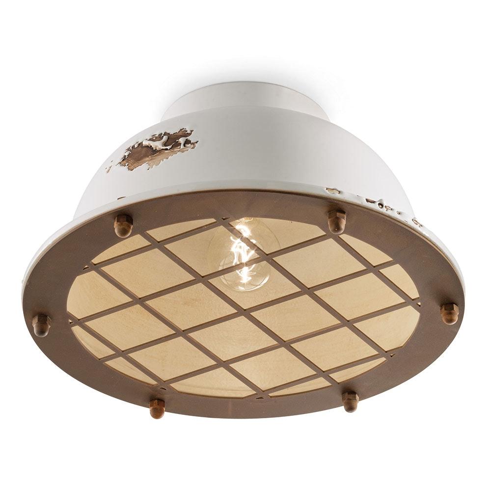 Ferroluce Industrial Deckenlampe 8