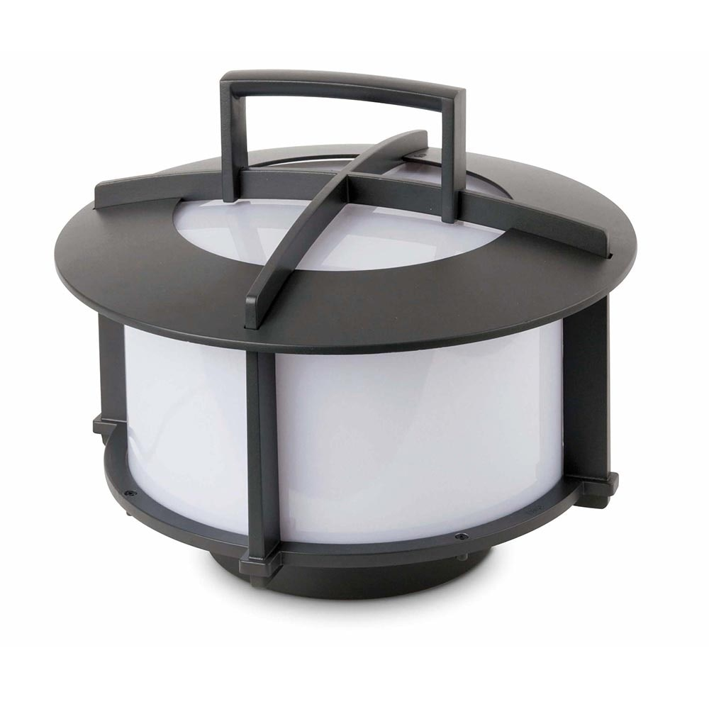 Tragbare Außen-Bodenleuchte CROSS-1 IP65 Dunkelgrau 2