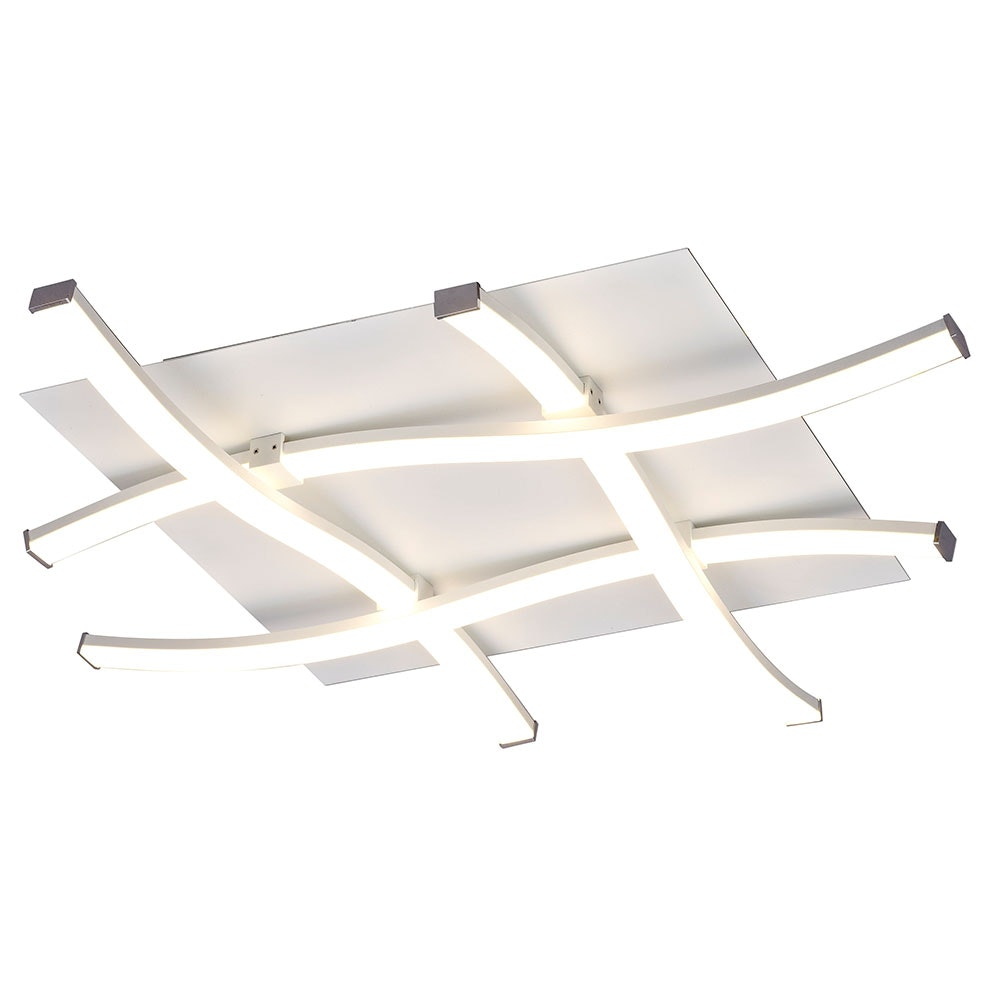 Mantra Nur quadratische LED-Deckenleuchte 1