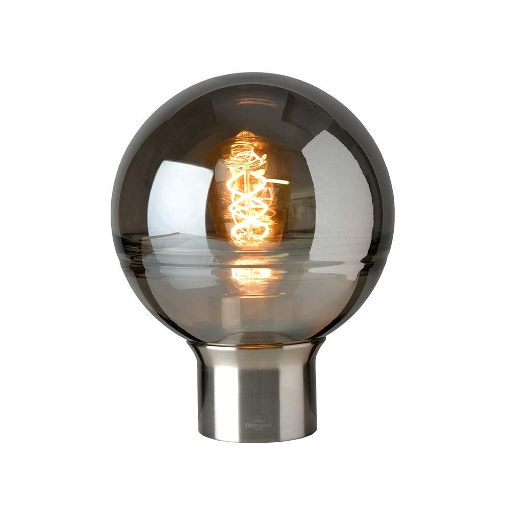 Villeroy & Boch Tischlampe Tokio 24cm Satin, Rauchfarben 1