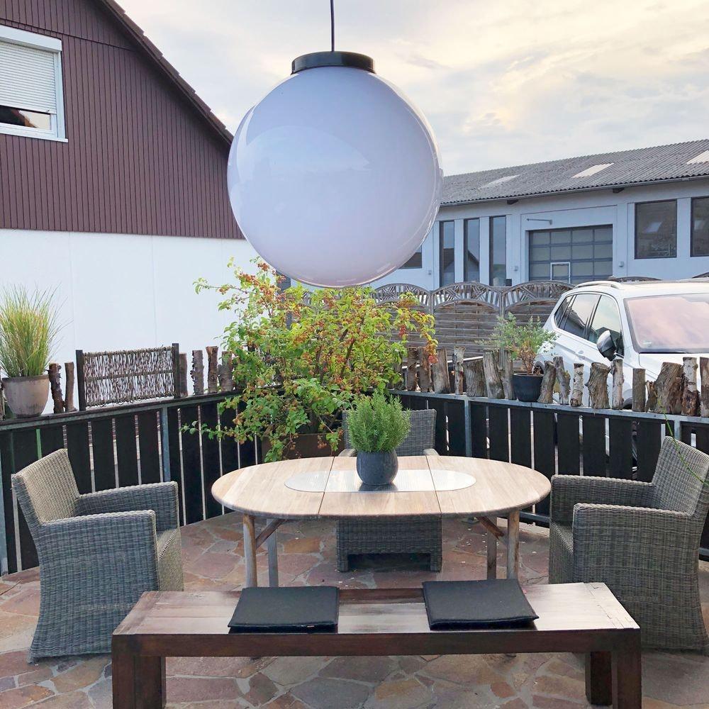 s.LUCE Hänge-Globe Kugellampe mit 15m Kabel IP54 7