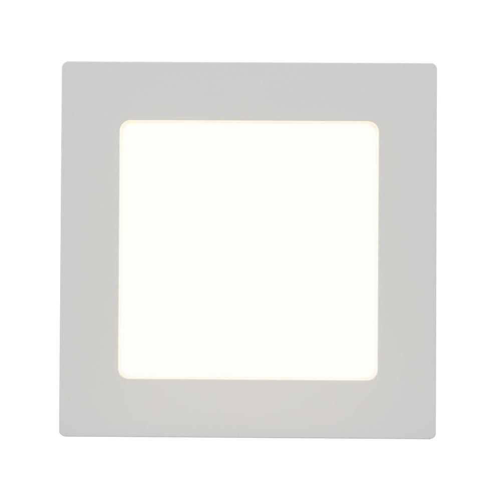 LED Deckenleuchte Svenja Weiß, Opal 5