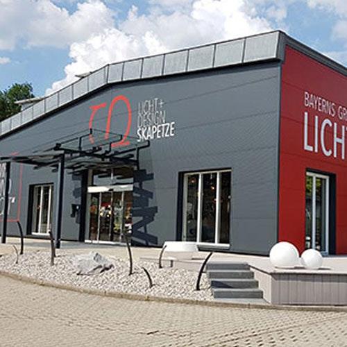 Neue Fassade Skapetze