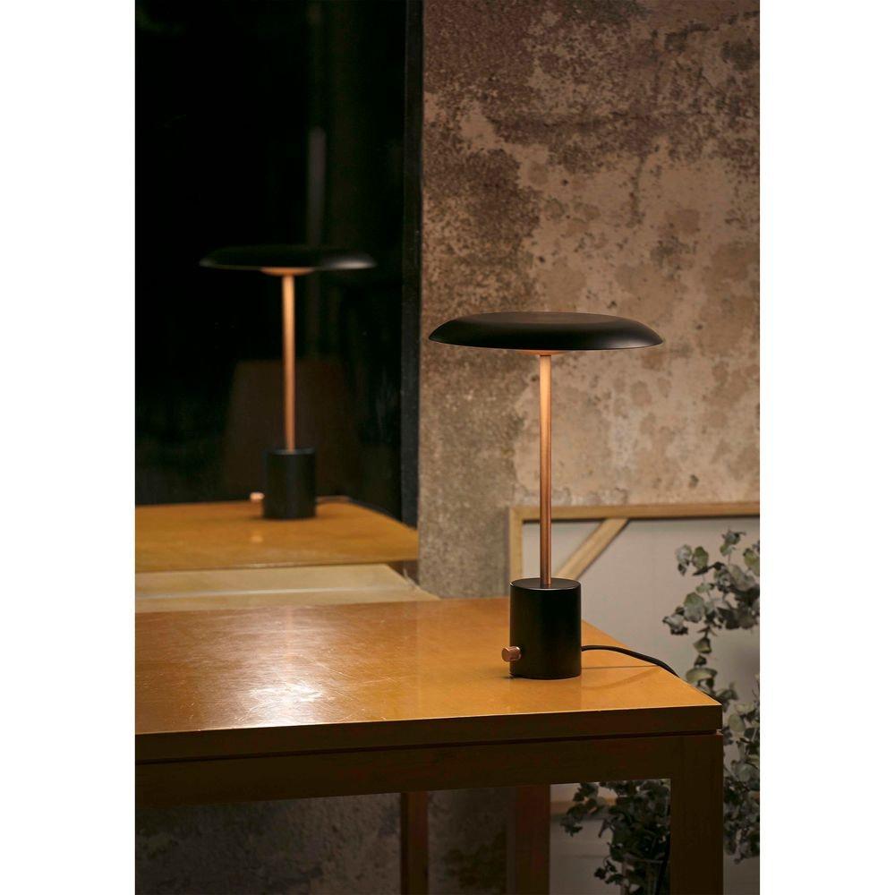LED Tischlampe HOSHI Schwarz, Kupfer 3